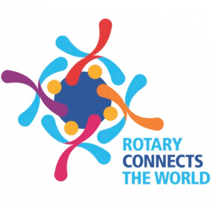 Rotary Connects the World logo